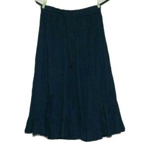 Worthington Petite Pleated Broomstick Skirt Boho